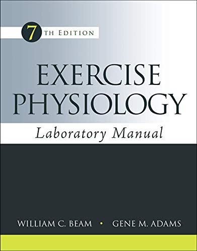 9780078022654: Exercise Physiology Laboratory Manual (B&B Physical Education)