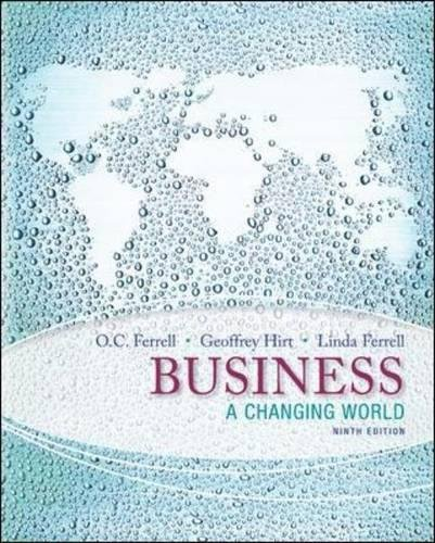 9780078023132: Business: A Changing World