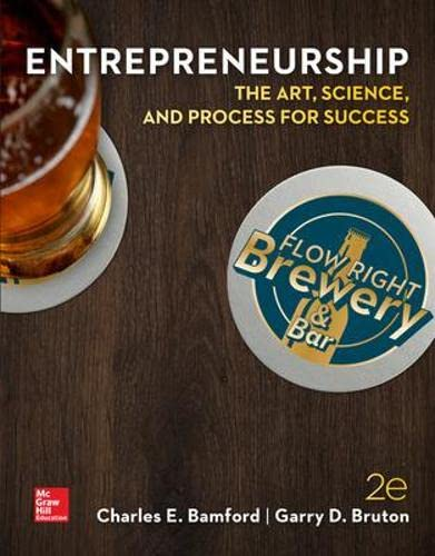9780078023187: ENTREPRENEURSHIP: The Art, Science, and Process for Success (Business Careers)