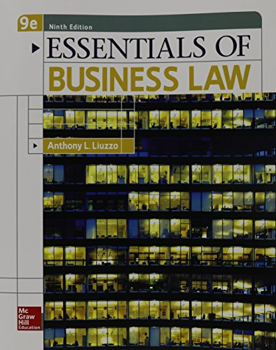 9780078023194: Essentials of Business Law