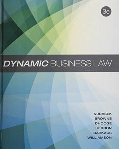9780078023781: Dynamic Business Law