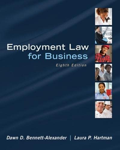 9780078023798: Employment Law for Business