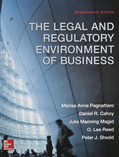 9780078023859: The Legal and Regulatory Environment of Business