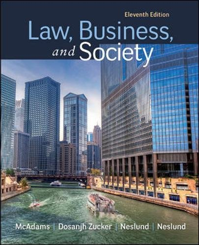 9780078023866: Law, Business and Society