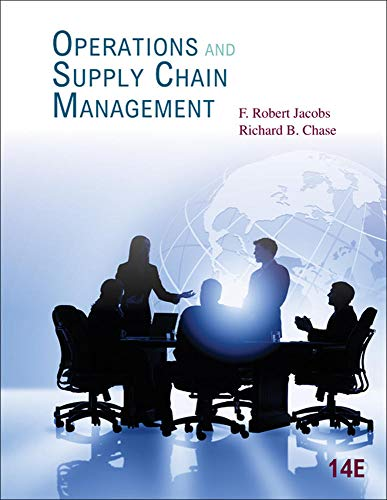 9780078024023: Operations and Supply Chain Management (McGraw-Hill/Irwin Series Operations and Decision Sciences)