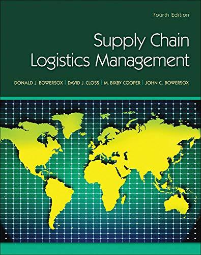 9780078024054: Supply Chain Logistics Management