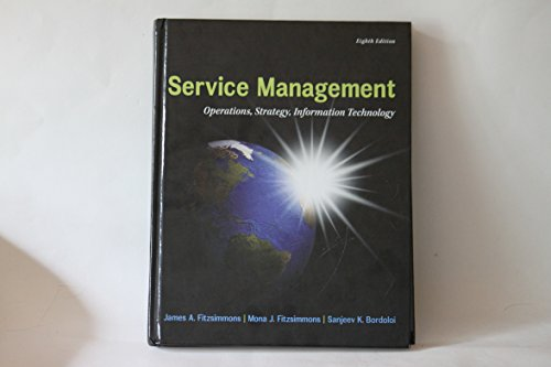Service Management Operations, Strategy, Information Technology: James A. Fitzsimmons