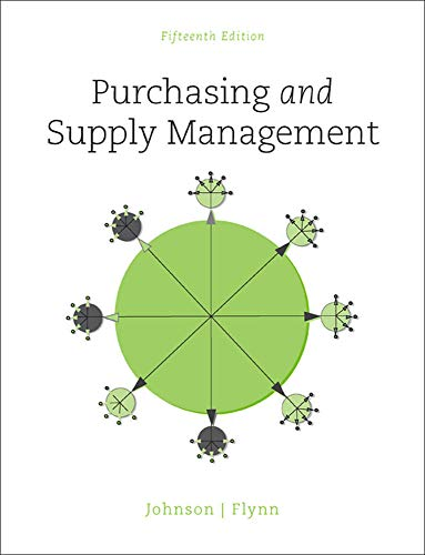 9780078024092: Purchasing and Supply Management (Irwin Operations/Decision Sciences)