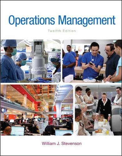 Operations Management (McGraw-Hill Series in Operations and: Stevenson, William J