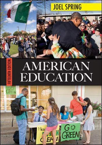 9780078024344: American Education