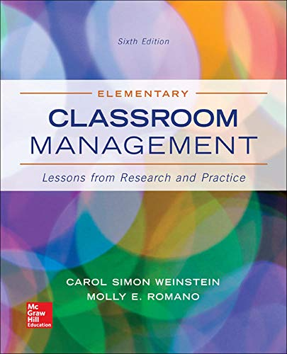 9780078024542: Elementary Classroom Management: Lessons from Research and Practice (B&B Education)