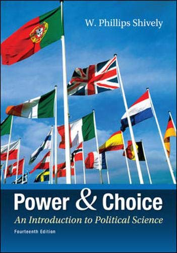 9780078024771: Power & Choice: An Introduction to Political Science