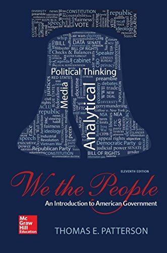 9780078024795: We The People: An Introduction to American Government