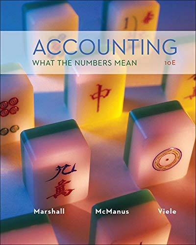 Accounting: What the Numbers Mean: Marshall, David; McManus,