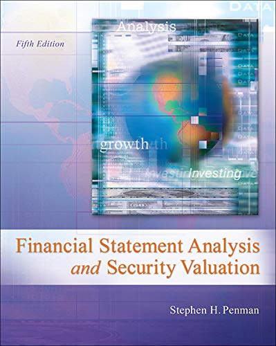 9780078025310: Financial Statement Analysis and Security Valuation (Irwin Accounting)