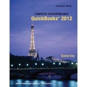 9780078025341: Computer Accounting with QuickBooks 2012