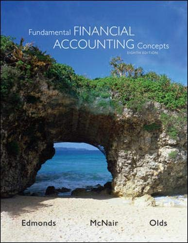 9780078025365: Fundamental Financial Accounting Concepts 8th Edition