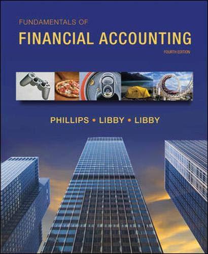 9780078025372: Fundamentals of Financial Accounting