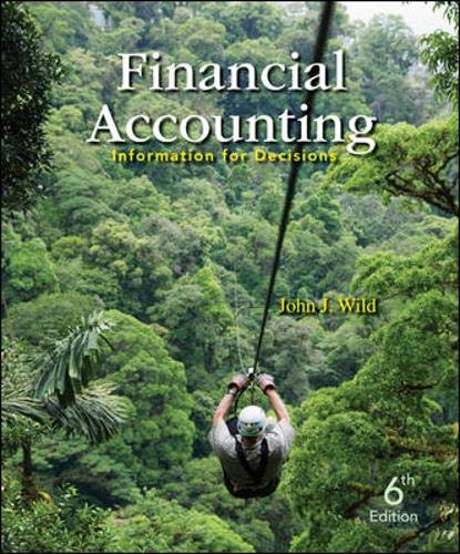 9780078025389: Financial Accounting: Information for Decisions, 6th Edition