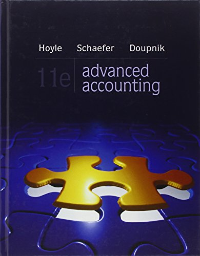 9780078025402: Advanced Accounting