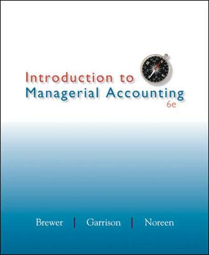 9780078025419: Introduction to Managerial Accounting