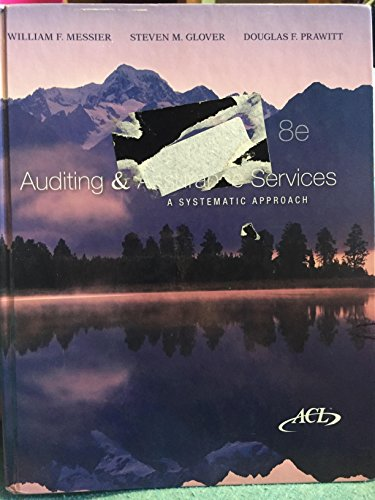 9780078025433: Auditing and Assurance Services