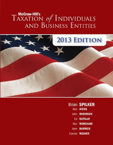 9780078025464: McGraw-Hill's Taxation of Individuals and Business Entities, 2013 edition