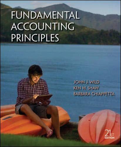 9780078025587: Fundamental Accounting Principles