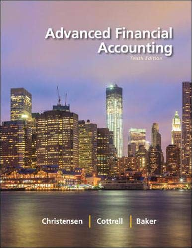 9780078025624: Advanced Financial Accounting