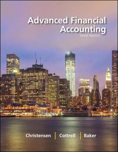 Advanced Financial Accounting: Christensen, Theodore E.;