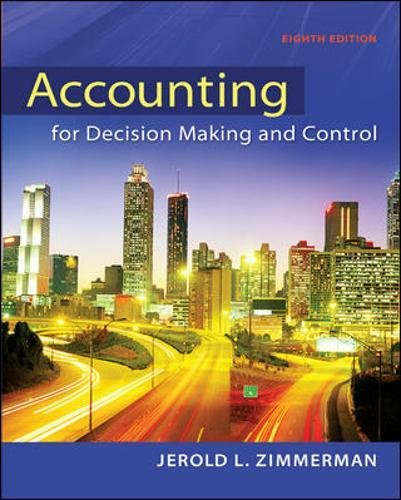 9780078025747: Accounting for Decision Making and Control