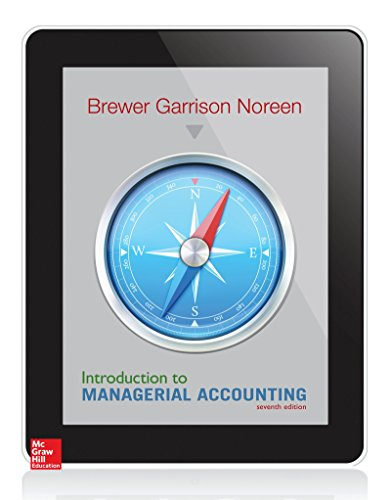9780078025792: Introduction to Managerial Accounting