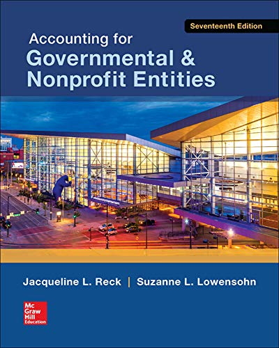9780078025822: Accounting for Governmental & Nonprofit Entities