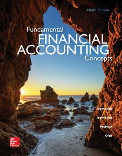 9780078025907: Fundamental Financial Accounting Concepts, 9th Edition