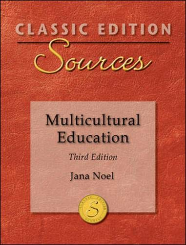 9780078026218: Classic Edition Sources: Multicultural Education