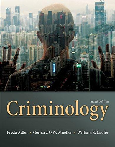 9780078026423: Criminology
