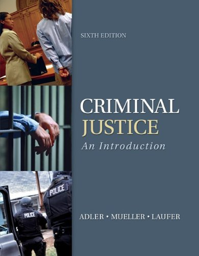 9780078026515: Criminal Justice: An Introduction