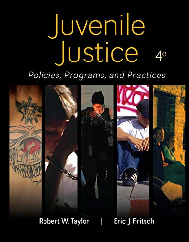 9780078026560: Juvenile Justice: Policies, Programs, and Practices