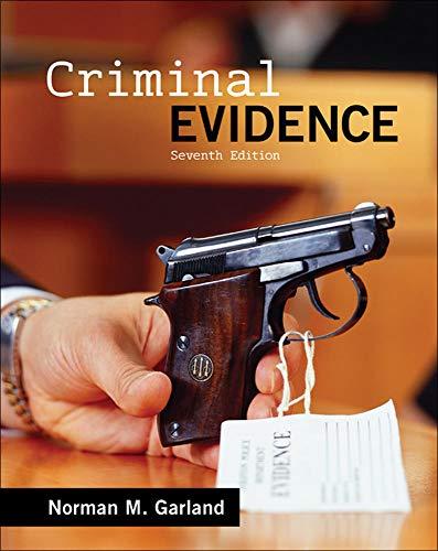 9780078026614: Criminal Evidence