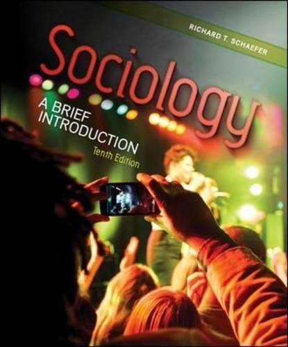 9780078026720: Sociology: A Brief Introduction