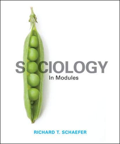 9780078026775: Sociology in Modules
