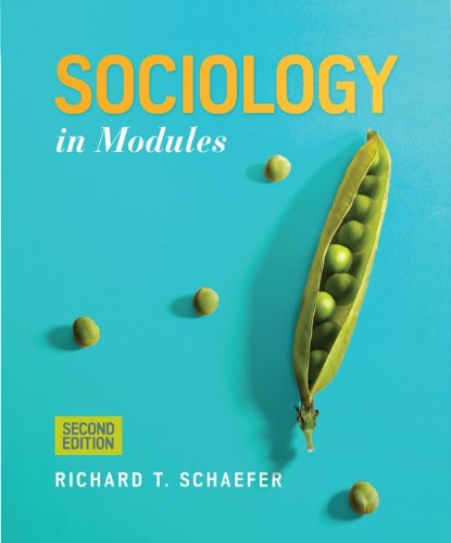 Sociology in Modules (0078026814) by Richard T. Schaefer