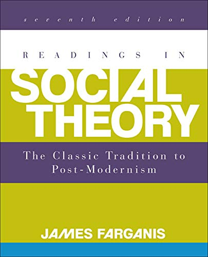 9780078026843: Readings in Social Theory