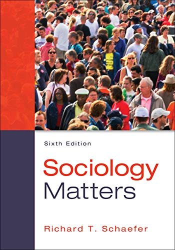 9780078026959: Sociology Matters