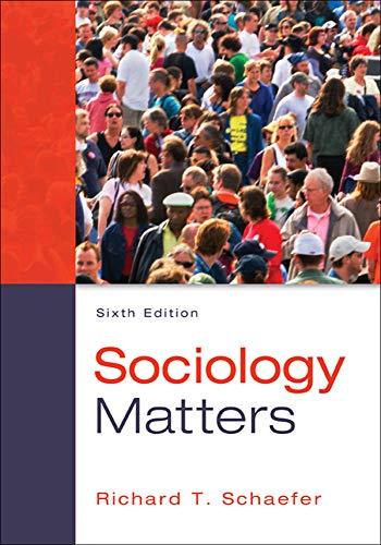 9780078026959: Sociology Matters
