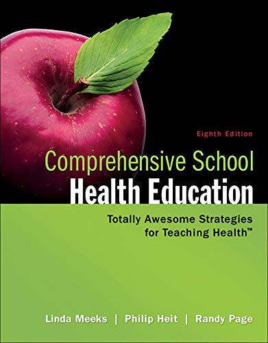 9780078028519: Comprehensive School Health Education