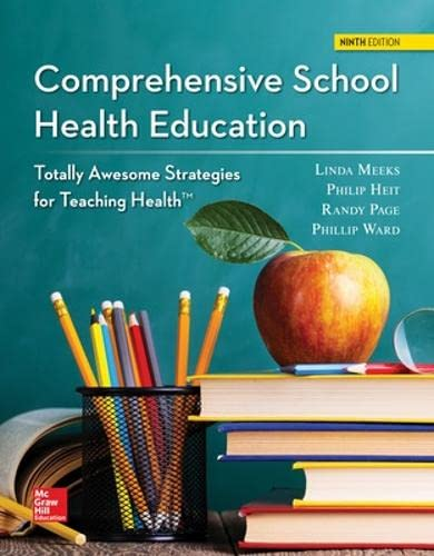 9780078028632: Comprehensive School Health Education