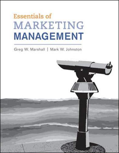 9780078028786: Essentials of Marketing Management