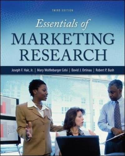 Essentials of Marketing Research: Joseph F. Hair