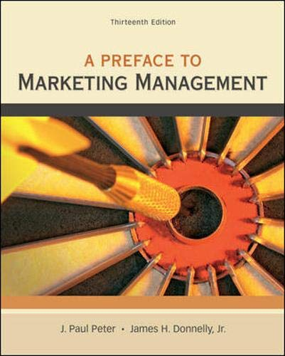 9780078028847: Preface to Marketing Management